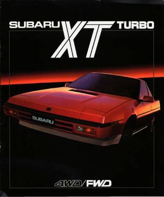 Subaru Xt Xt Turbo