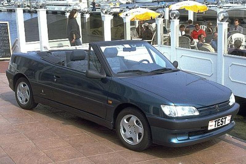 Peugeot 306 Cabriolet 1.8i (1995)