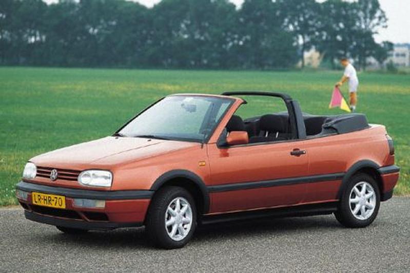Volkswagen Golf Cabriolet 1.9 TDI 90pk Avantgarde (1996)