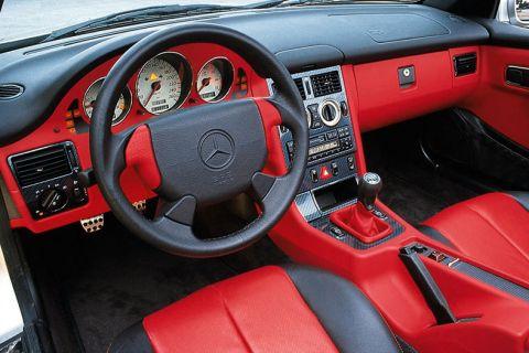 mercedes benz slk 230 kompressor 1998 autotest. Black Bedroom Furniture Sets. Home Design Ideas
