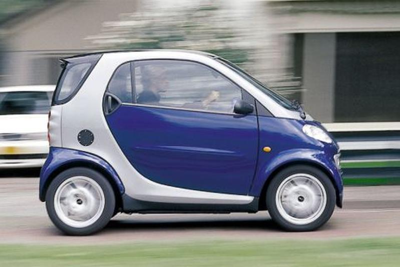 Smart city-coupé smart & passion 55pk (1999)