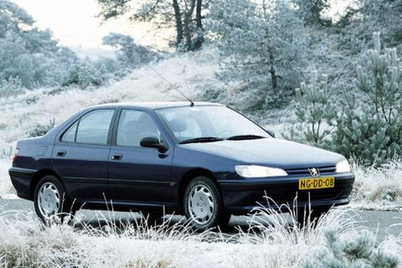 Peugeot 406 SRdt 1.9 90pk (1997)