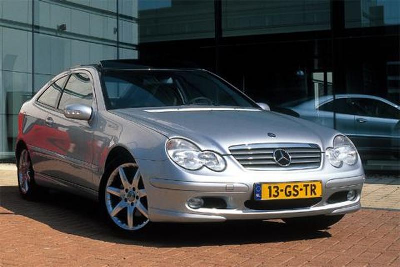 Mercedes-Benz C 220 CDI Sports Coupé (2001)
