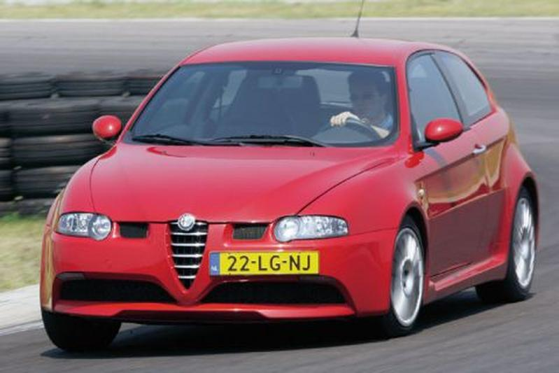 alfa romeo 147 gta 2003 autotest. Black Bedroom Furniture Sets. Home Design Ideas