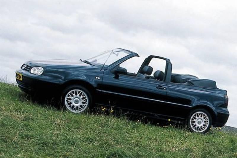 Volkswagen Golf Cabriolet 1.9 TDI 110pk Highline (2000)