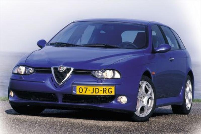 Alfa Romeo 156 Sportwagon GTA 3.2 V6 24V (2002)