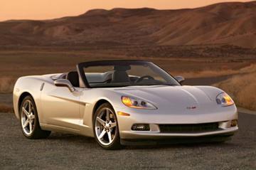 Corvette C6 Convertible na de zomer
