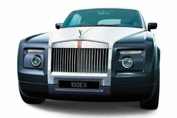 EX100: jubileummodel van Rolls Royce