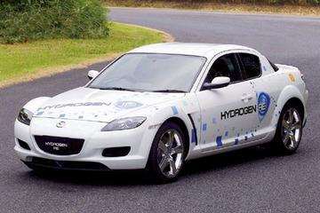 Praktijktest voor waterstof Mazda RX-8
