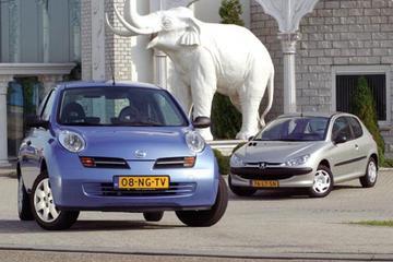 Nissan Micra 1.5 dCi - Peugeot 206 1.4 HDI