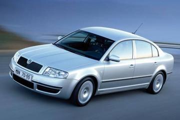 Skoda Superb 2.5 V6 TDI 163pk Elegance (2006)