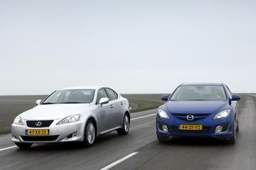 Mazda 6 2.5 GT-M/Lexus IS 250