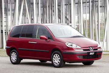 Laadbare Peugeot 807 Commercial