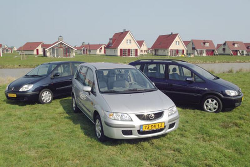 Opel Zafira 1.8-16V - Mazda Premacy 1.8 - Renault Scénic 1.6 16V
