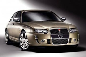 Met stamboom: Rover 75 V8