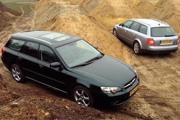 Subaru Legacy Touring Wagon 2.5 - Audi A4 Avant