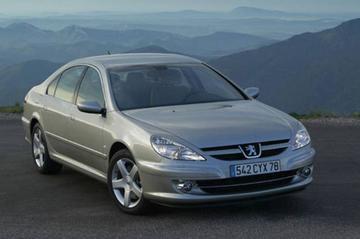 Peugeot 607 vernieuwd