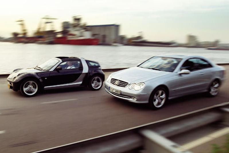 Mercedes-Benz CLK 500 – smart roadster-coupé