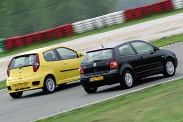 Fiat Punto 1.9 JTD Abarth - Volkswagen Polo 1.9 TDI Highline