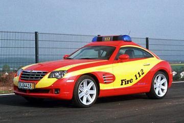 Chrysler Crossfire voor hulpdiensten