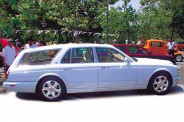 Bentley met bed