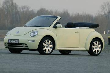 Zomers aanbod New Beetle Cabrio