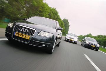 Audi A6 3.0 TDI quattro Pro Line – Mercedes-Benz E320 CDI Elegance – BMW 530d Ex