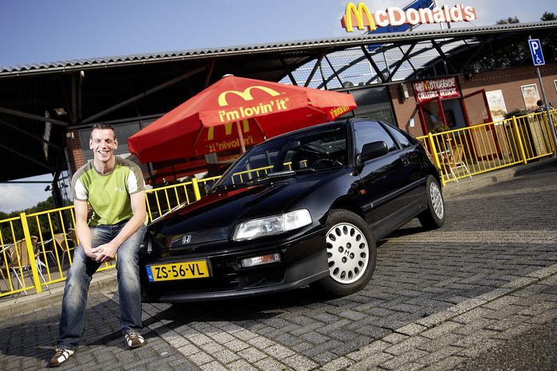 Blits bezit - Honda CRX