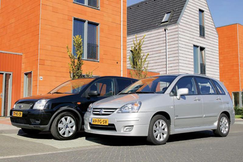 Suzuki Liana 1.4 Exclusive Diesel - Ford Fusion 1.4 TDCi Futura
