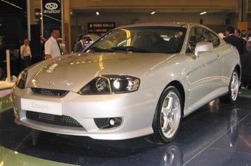 Hyundai Coupé vernieuwd