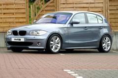 Lager en breder: BMW 1-serie van H&R