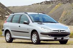 Nieuw basismodel Peugeot 206