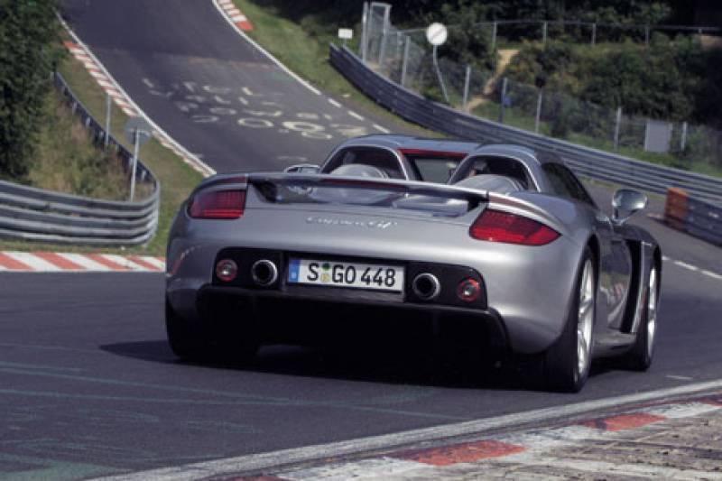 Carrera GT snelste op Nürburgring