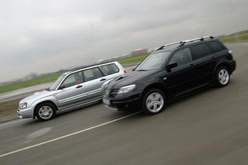Mitsubishi Outlander Turbo – Subaru Forester 2.5 XT