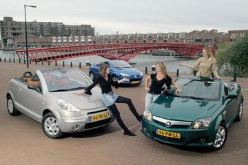 Peugeot 206 CC 1.6 16V – Opel Tigra Twin Top 1.8 Sport – Citroën C3 Pluriel 1.6i