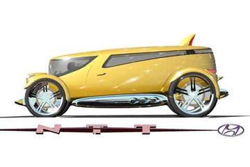 Hyundai NTT op de LA Auto Show