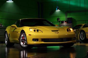 Corvette Z06 met 7-liter V8