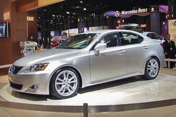 Lexus IS350 met ruim 300 pk
