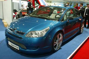 Sbarro knutselt met Citroëns