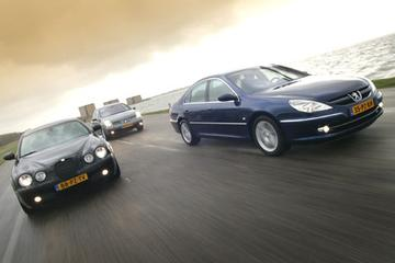 Peugeot 607 2.7 HDI/Renault Vel Satis 3.0 dCi/Jaguar S-Type 2.7D