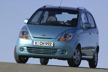 Chevrolet Matiz vernieuwd