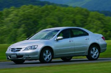 Honda Legend terug van weg geweest