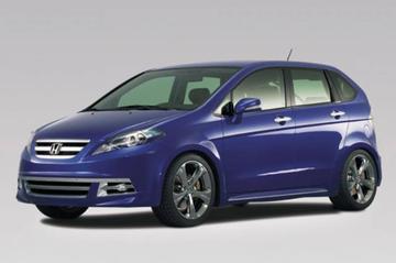 Honda FR-V als accessoire-etalage