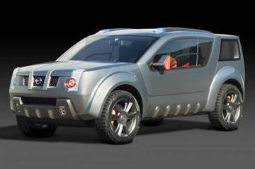 Nissan Zaroot: SUV met vleugeldeuren