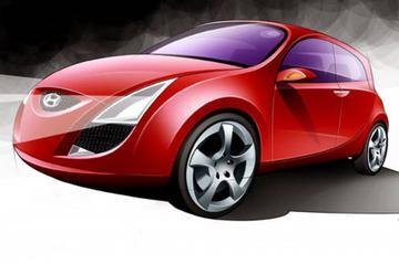 Nieuw studiemodel: Hyundai HED-1