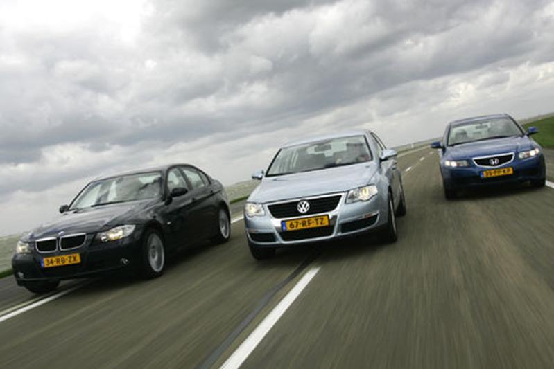 Volkswagen Passat 2.0 TDI - Honda Accord 2.2i CDTi - BMW 320d