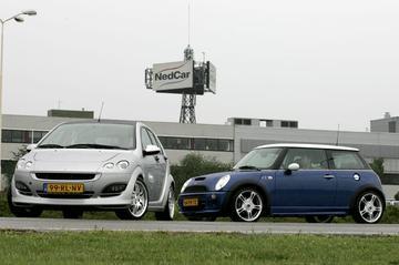 Smart Forfour Brabus – Mini Cooper S Works