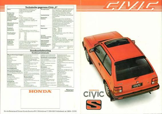 Honda Civic S,