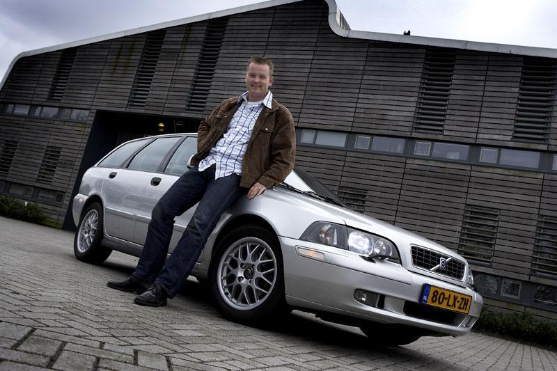 Klokje rond Volvo V40