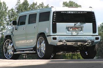Super-Hummer heeft Corvette-motor